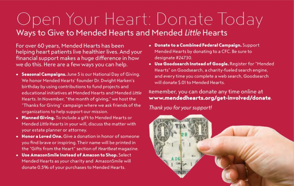 Mended Hearts - Donate