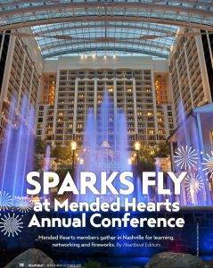 Sparks Fly at Mended Hearts Annual Conference